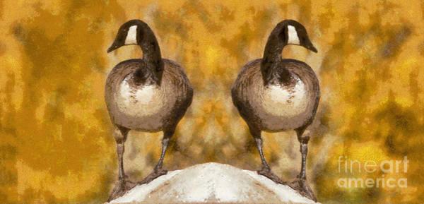 Photograph - Two Sentries by Les Palenik