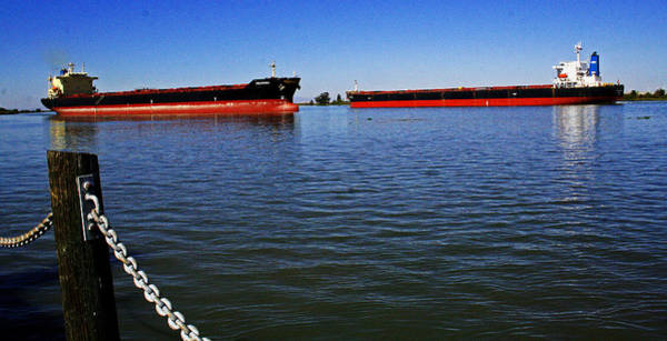 Photograph - Two Shipping Lanes by Joseph Coulombe
