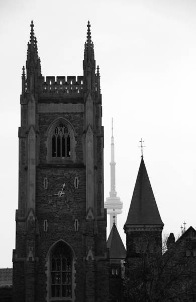 Photograph - Two Towers by Andrew Fare