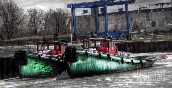 Photograph - Two Tugs by Jim Lepard