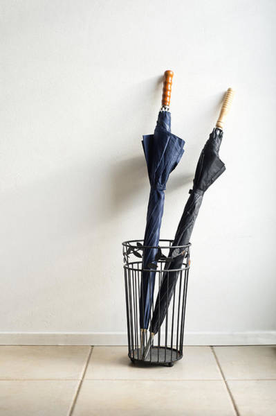 Wall Art - Photograph - Two Umbrellas by Corepics