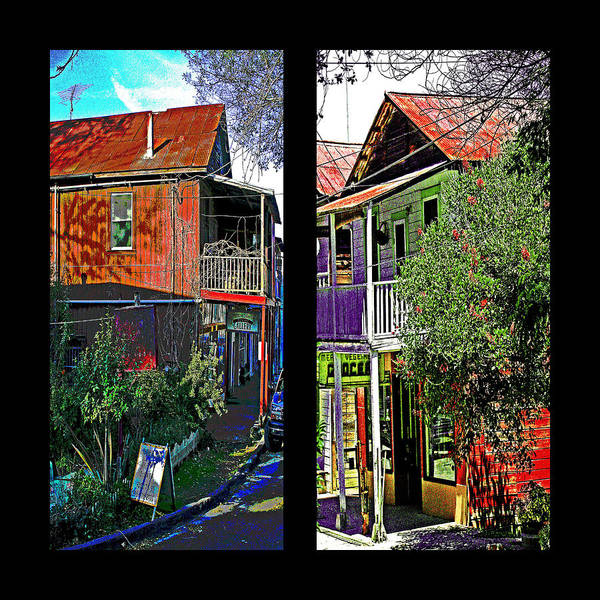 Photograph - Two Views One Street by Joseph Coulombe