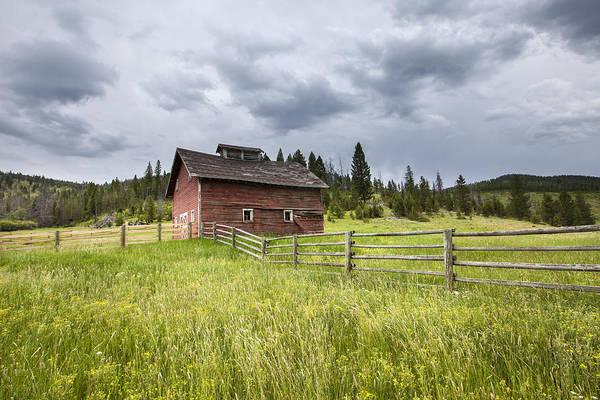 Photograph - Two Window Barn by Fran Riley