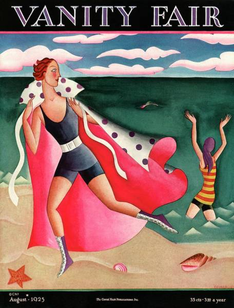 Wall Art - Photograph - Two Women At The Beach by Miguel Covarrubias