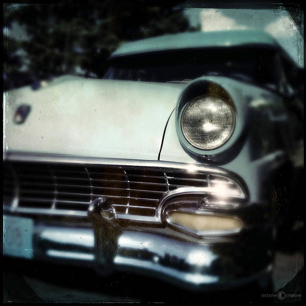 Photograph - twotone Ford by Tim Nyberg