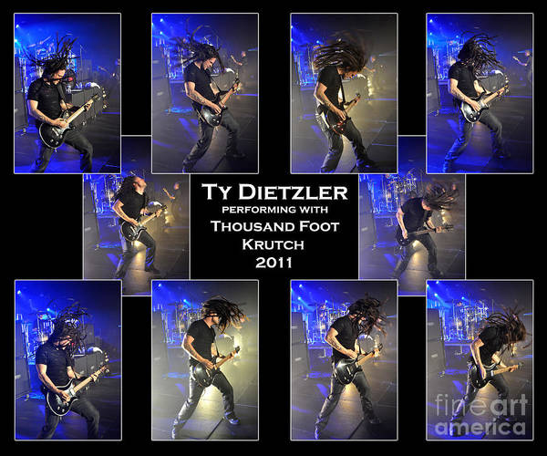 Tfk Photograph - Ty Dietzler With Tfk 2011 by Gary Gingrich Galleries