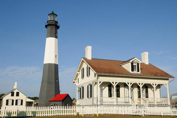 Photograph - Tybee Island Light Station by Bradford Martin