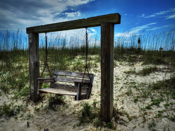 Photograph - Tybee Island Swing 003 by Lance Vaughn