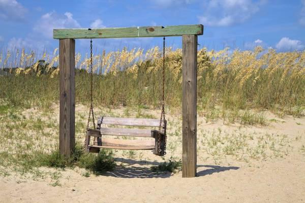 Photograph - Tybee Island Swing by Gordon Elwell