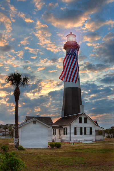 Wall Art - Photograph - Tybee Lighthouse by Peter Tellone