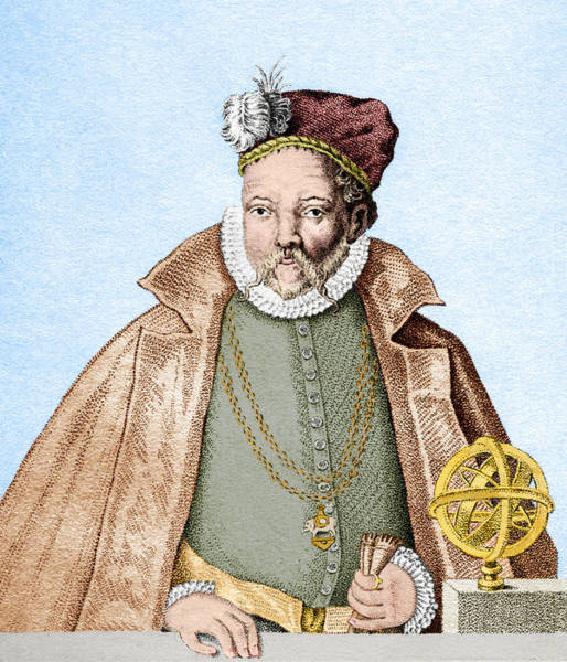 Astronomer Photograph - Tycho Brahe by Sheila Terry/science Photo Library