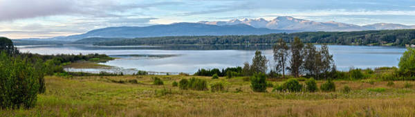 Photograph - Tyhee Lake Panorama by Mary Lee Dereske