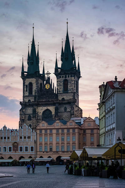 Small Town Photograph - Tyn Cathedral On Old Town Square by Jason Langley
