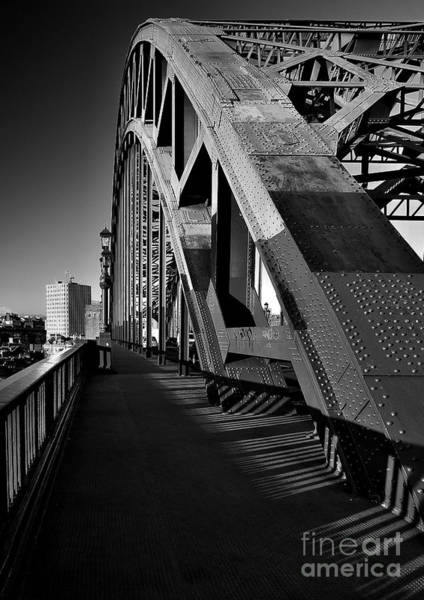 Photograph - Tyne Bridge Monocrome by Martyn Arnold