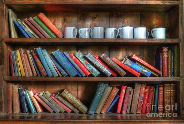 Photograph - Tyneham School Bookcase by David Birchall