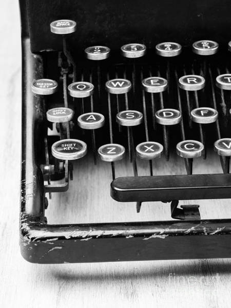 Photograph - Typewriter Triptych Part 1 by Edward Fielding
