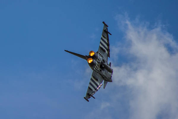 Airshow Photograph - Typhoon Jet by Martin Newman