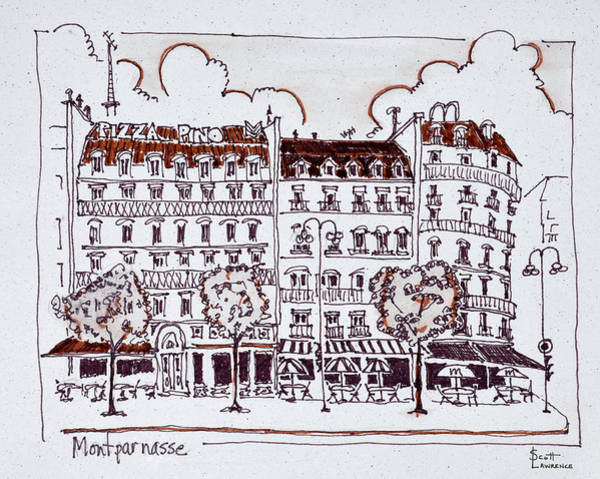 Boulevard Photograph - Typical Haussmann Architecture by Richard Lawrence