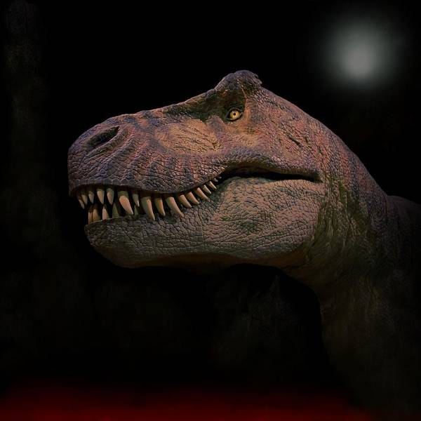 Photograph - Tyrannosaurus Just Before Extinction  by Movie Poster Prints