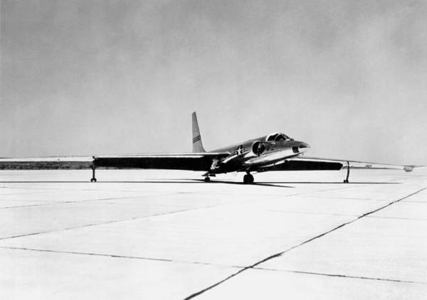 Wall Art - Photograph - U-2 Reconnaissance Aircraft by Underwood Archives