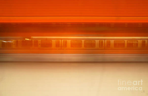 Photograph - U-motion by Hannes Cmarits