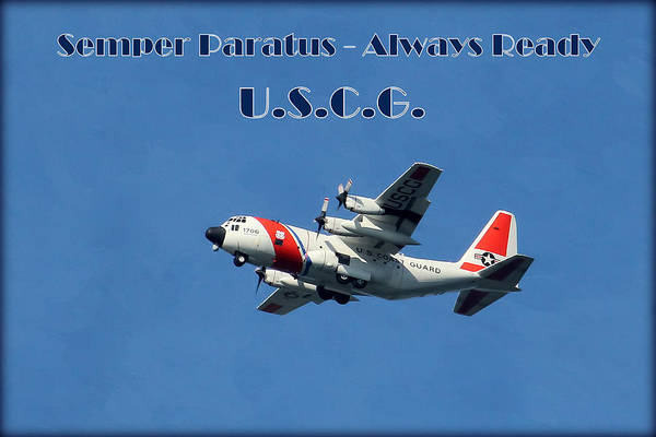 Department Of Defense Photograph - U S Coast Guard by HH Photography of Florida