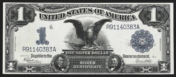 Wall Art - Photograph - U. S. Silver Certificate 1899 by Daniel Hagerman