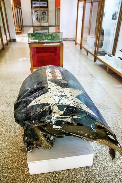U2 Photograph - U2 Spy Plane Engine Wreck by Peter J. Raymond