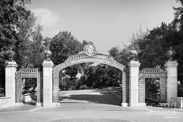 Photograph - Uc Berkeley Sather Gate by University Icons
