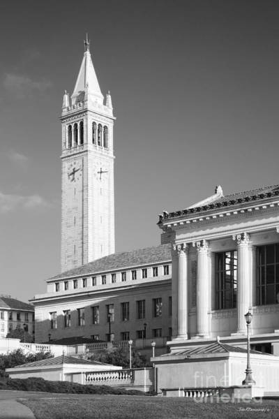 Photograph - Uc Berkeley The Campanile And Doe Library by University Icons
