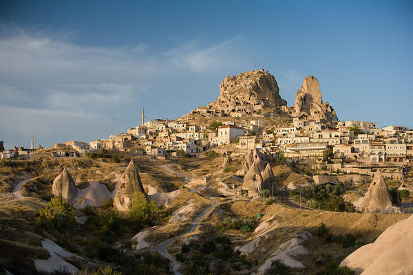 Nevsehir Photograph - Uchisar Castle And Surrounding by Tim Gerard Barker