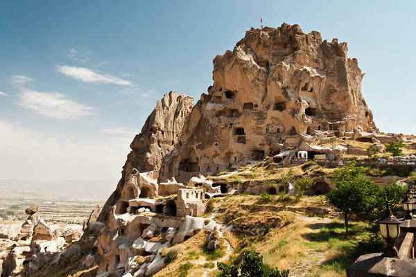 Nevsehir Photograph - Uchisar Castle In Capadocia by Guvendemir