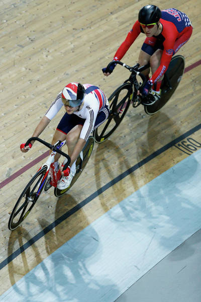 World Championship Photograph - Uci Track Cycling World Championships - by Dean Mouhtaropoulos