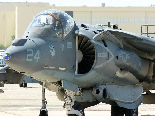 Photograph - Ucmc Harrier Jump Jet by Jeff Lowe
