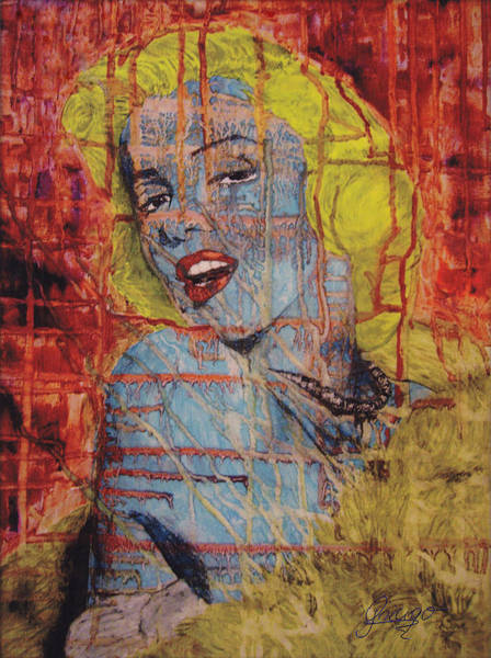 Ljubljana Painting - Mm Marilyn Monroe by Gringo Artist