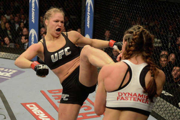 Mgm Grand Garden Arena Photograph - Ufc 168 Rousey V Tate 2 by Donald Miralle/zuffa Llc