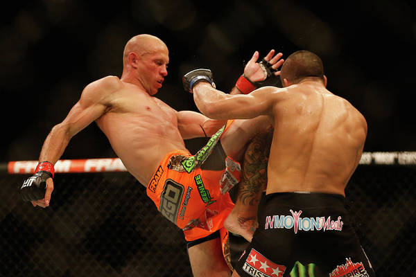 Donald Photograph - Ufc 187 Cerrone V Makdessi by Christian Petersen/zuffa Llc