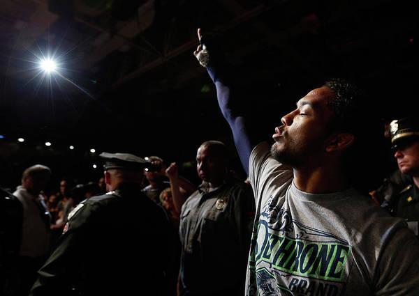 Coliseum Photograph - Ufc Fight Night Henderson V Khabilov by Josh Hedges/zuffa Llc