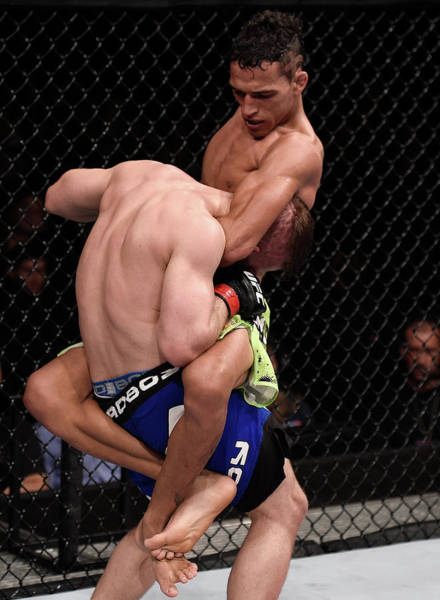 Ufc Photograph - Ufc Fight Night Oliveira V Lentz by Buda Mendes/zuffa Llc