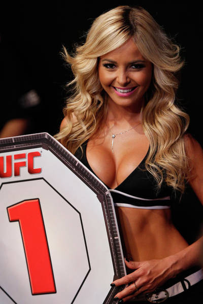 Ufc Photograph - Ufc Fight Night Ponzinibbio V Oliveira by Josh Hedges/zuffa Llc
