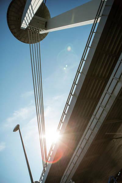 Bratislava Photograph - Ufo Bridge, Bratislava, Slovakia by Tim E White