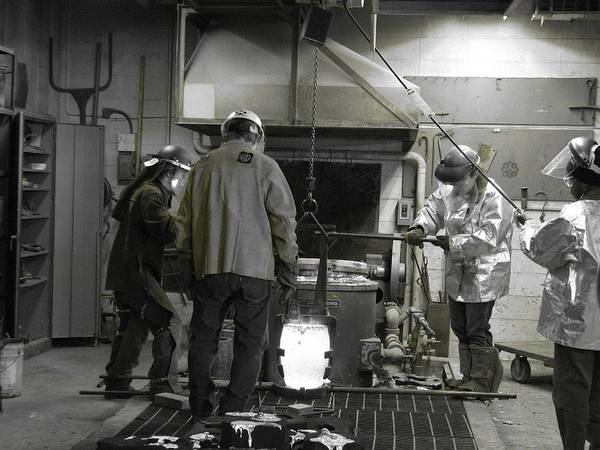 Photograph - Welding 2 by Cleaster Cotton