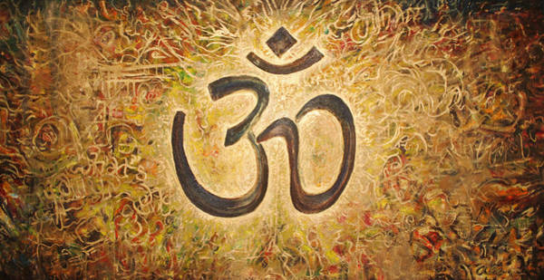 Om Wall Art - Painting - Uhm....om by Alan Schwartz