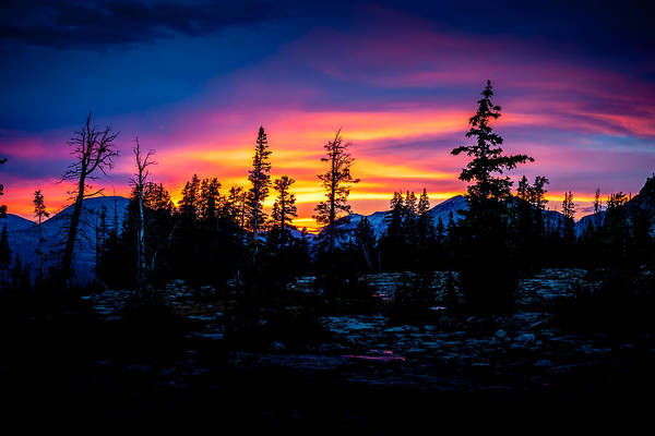 Photograph - Uinta Sunset #2 by TL  Mair