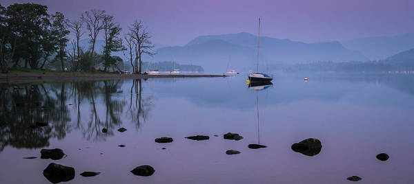 Ullswater Photograph - Ullswater Boat by John Lever Photography.