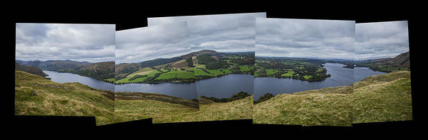 Pooley Bridge Wall Art - Photograph - Ullswater From Hallin Fell by Graham Moore