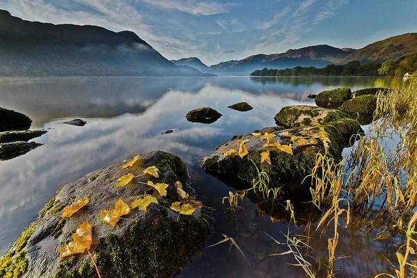Ullswater Photograph - Ullswater In Autumn by John Ormerod