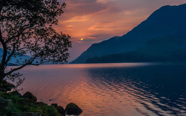 Glenridding Wall Art - Photograph - Ullswater Sunrise Lake District by David Ross