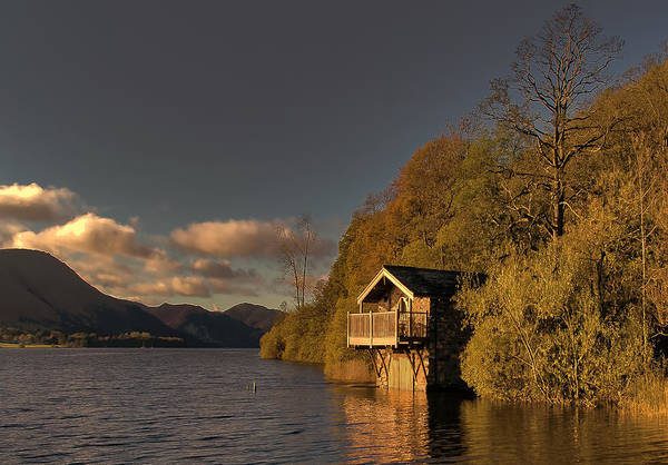 Pooley Bridge Wall Art - Photograph - Ullswater Sunset by Trevor Kersley
