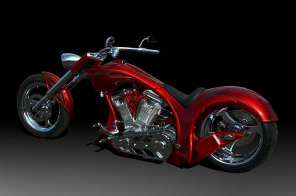 Photograph - Ultra Craft Custom Second Chance Motorcycle by Tim McCullough